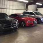 Econo Auto Painting Lakeland cars in the shop after painting and detailing